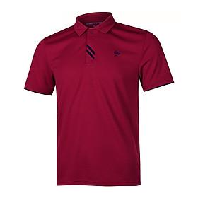 Áo Polo nam thể thao Dunlop - DABAS9105-1C áo thun tennis cầu lông chính hãng Dunlop