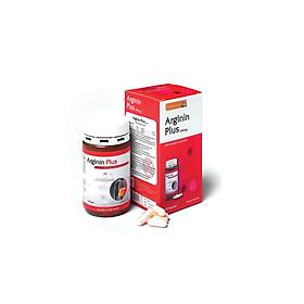 Thực phẩm chức năng gan hỗ trợ tăng cường chức năng gan, giải độc gan, bảo vệ gan, hỗ trợ hạ men gan, gan nhiễm mỡ - Arginin Plus Kapseln thương hiệu Sanct Bernhard (Hộp 90 viên)
