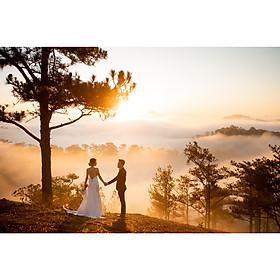 Chụp ảnh cưới tại Hồng Linh Studio-Voucher gói chụp ảnh cưới tại Hà Nội (BLUE OPAL)