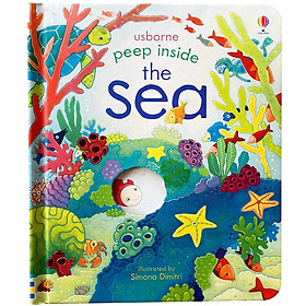 Usborne Peep Inside The Sea (Board book)
