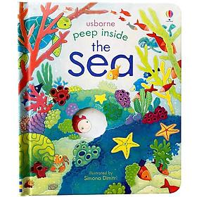 Usborne Peep Inside The Sea (Board book)