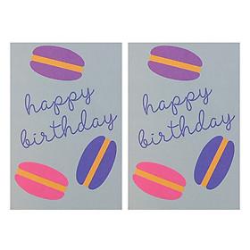 Combo 2 Thiệp Papermix - Happy Birthday