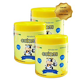 Combo 3 hộp Sữa non COLOMI dành cho trẻ em (130g)