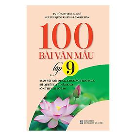 100 Bài Văn Mẫu Lớp 9