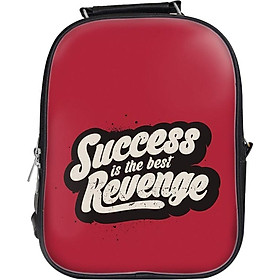 Balo Unisex In Hình Success Is The Best Revenge - BLTE077