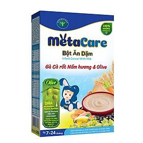 Bột ăn dặm dinh dưỡng Metacare 8 loại hỗ trợ phát triển toàn diện (200g)