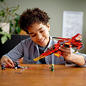Đồ chơi lắp ráp mô hình LEGO NINJAGO Máy bay tiêm kích của Kai 71704