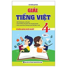 Giải Tiếng Việt 4 - Tập 1