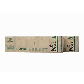 10 gói Khăn Giấy bỏ túi Bobo Bamboo Siêu Dai làm từ 100% bột trúc thiên nhiên
