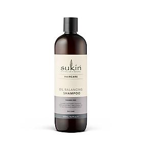 Dầu gội cân bằng dầu Sukin Oil Balancing Shampoo 500ml