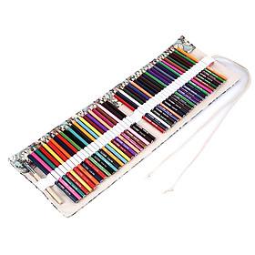 Bộ Bút Chì Màu Vẽ Tranh Phác Thảo Kèm Túi Canvas (48 Màu)