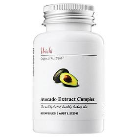 Viên uống chiết xuất từ Quả Bơ Unichi Avocado Extract Complex 60 viên - Nhập khẩu Úc