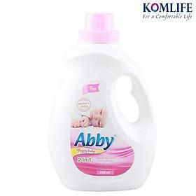 Nước giặt xả em bé ABBY dung tích 1100ml – Hàng chính hãng