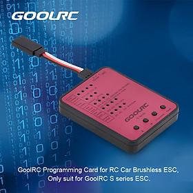 GoolRC S series S-45A/S-120A RC Car ESC Programming Card
