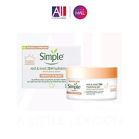 Kem dưỡng Simple Protect N Glow Rest & Reset 72 H Hydrating Gel - 50ml