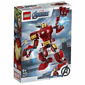 Bộ lắp ráp Chiến Giáp Người Sắt - LEGO Marvel 76140 (148 Chi Tiết)