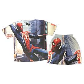 Đồ Bộ Bé Trai Hình Spider Man In 3D 22