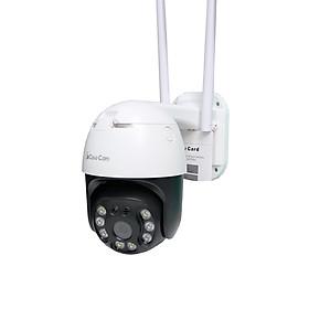 Camera wifi ngoài trời CareCam 20HS300 3.0MP Full HD, đàm thoại 2 chiều, xoay 360 độ, hỗ trợ thẻ nhớ lên đến 128G, cảnh báo chống trộm, 2 anten, chống nước – Hàng Nhập khẩu