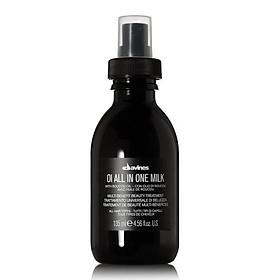Xịt dưỡng tóc Davines OI OIL All in One Milk đa năng siêu mềm mượt Ý 135ml