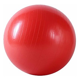 Bóng Tập Yoga Trơn Best Sport DK075DO (75cm) - Đỏ + Tặng Kèm Bơm
