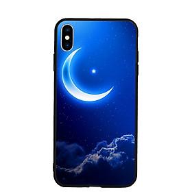 Hình đại diện sản phẩm Ốp lưng Viền TPU Cao Cấp cho Iphone XS Max - Moon 01