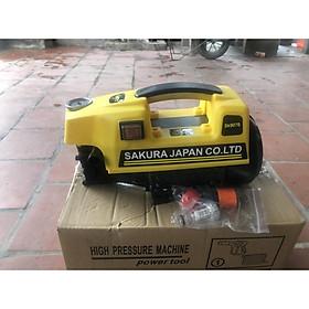 máy rửa xe cao áp SAKURA công suất 2500W - động cơ dây đồng - giao màu ngẫu nhiên