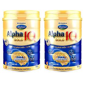 COMBO 2 SỮA BỘT DIELAC ALPHA GOLD IQ 1 900G (CHO TRẺ TỪ 0 - 6 THÁNG TUỔI)