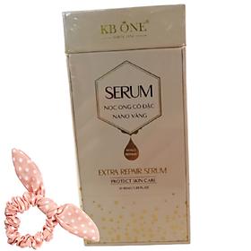 Extra Repair Serum KB ONE Chiết Xuất Nọc Ong Cô Đặc Nano Vàng, Tặng Kèm Cột Tóc Ngẫu Nhiên