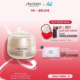Kem dưỡng mắt Shiseido Benefiance Wrinkle Smoothing Eye Cream 15ml