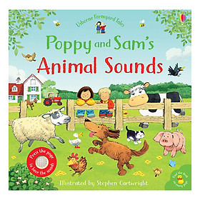 Poppy and Sam's Animal Sounds - Farmyard Tales Poppy and Sam (Board book)