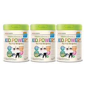 Ba hộp Sữa Bột Tăng Chiều Cao Kid Power A+ dành cho bé