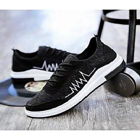 Giày Sneaker Đen Full thoáng khí