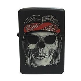 Bật Lửa Zippo 218 Hippy Skull