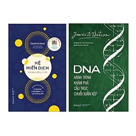 Combo Sách Y Học: Hệ Miễn Dịch: Khám Phá Cơ Chế Tự Phòng Chữa Bệnh Của Cơ Thể Người +  DNA Hành Trình Khám Phá Cấu Trúc Chuỗi Xoắn Kép