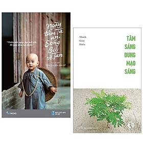Combo 2 Cuốn Sách Kỹ Năng Sống: Ngày Tâm Ta An, Sóng Gió Sẽ Tan + Tâm Sáng Dung Mạo Sáng ( Bộ Sách Cho Tâm Hồn / Tặng Kèm Bookmark Happy Life )