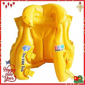 Áo phao tập bơi  Yesure Intex Step 2 tiện dụng dành cho bé 3-6 tuổi(<30 kg), chất liệu nhựa PVC màu vàng bắt mắt an toàn cho bé, không thấm nước, dễ dàng vệ sinh - Hàng Chính Hãng
