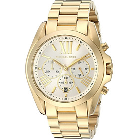Michael Kors Women's Bradshaw Gold-Tone Watch MK6266
