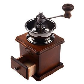 Cối xay tiêu cà phê phủ Ceramic phong cách cổ điển - Vintage Coffee Grinder