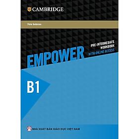Empower B1 Pre-Intermediate Workbook with Online Access