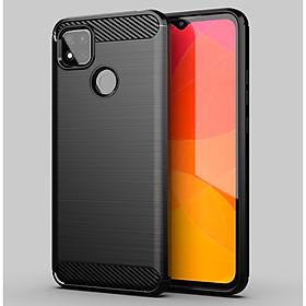 Ốp lưng chống sốc Vân Sợi Carbon cho Xiaomi Redmi 9C
