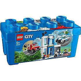 Đồ Chơi Lắp Ráp Lego City Thùng Gạch Cảnh Sát 60270 (301 Chi Tiết)