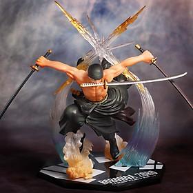 Mô Hình One Piece Nhân Vật Roronoa Zoro Tam Kiếm Cao Cấp