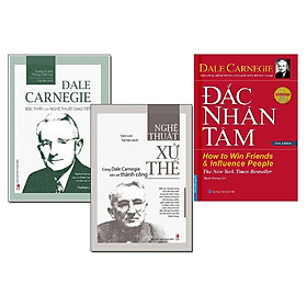 Combo Nghệ Thuật Xử Thế (Dale Carnegie Bậc Thầy Của Nghệ Thuật Giao Tiếp + Xử Thế) - Tái Bản + Đắc Nhân Tâm - Bìa Cứng