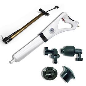 Bộ dụng cụ thông tắc bồn cầu và các loại ống nước bằng khí nén - Canino cao cấp