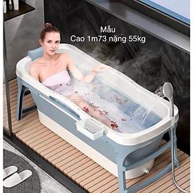 Bồn tắm nhựa gấp gọn-không kèm nắp-dài 1m28