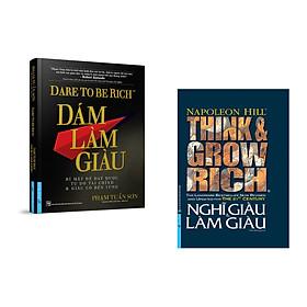 Combo 2 cuốn sách: Dám Làm Giàu + Nghĩ Giàu và Làm Giàu (Bìa cứng)
