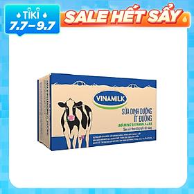 Thùng 48 Bịch Sữa Dinh Dưỡng Vinamilk Ít Đường (220ml / Bịch)