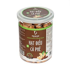 Hạt điều vị cà phê hộp 340g - Hương vị độc lạ hòa quyện giữa vị ngọt đắng, dễ dàng bảo quản, thuận tiện mang đi