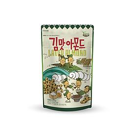 Hạt Hạnh Nhân tẩm Rong Biển Tom's Farm 210g Hàn Quốc