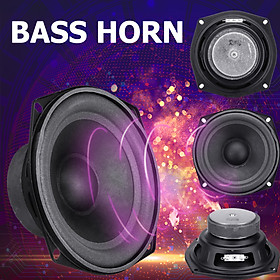 5.25 Inch 30W DIY Bass Horn Loudspeaker Stereo Subwoofer Speaker Music Sound Box Clear Voice Durable